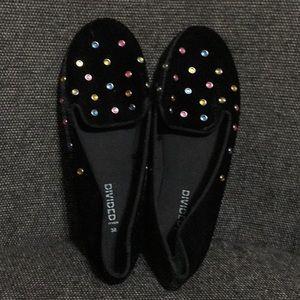 H&M Multi-Gems Flat Shoes